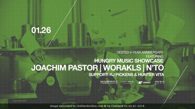 HUNGRY MUSIC: N'TO, JOACHIM PASTOR, WORAKLS