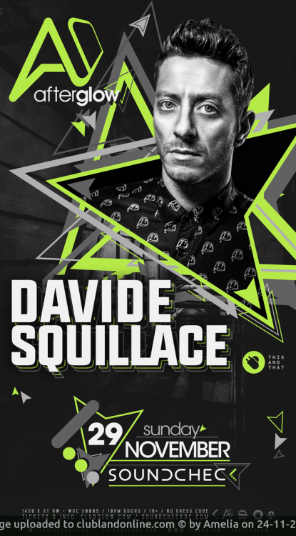 Davide Squillace at Soundcheck